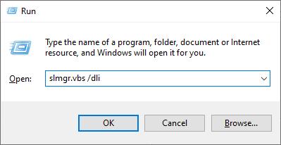 Mengecek Windows 10 Original atau Bajakan dengan Run