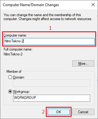 Cara Mengganti Nama Komputer/ Laptop - 1